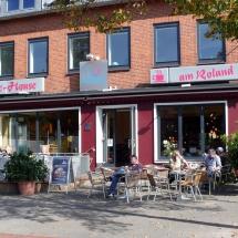 Coffee House am Roland Außenansicht